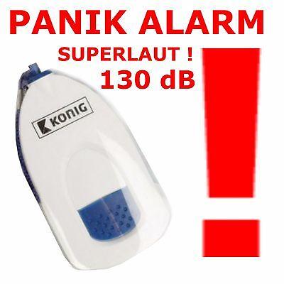 Handtaschen Alarm Sirene Überfall Camping Panik LKW PKW Diebstahl Personen Mobil