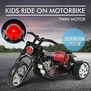 Kids Electric Ride on Motorbike Harley Style Motorcycle Toy Car Perth Perth City Area Preview