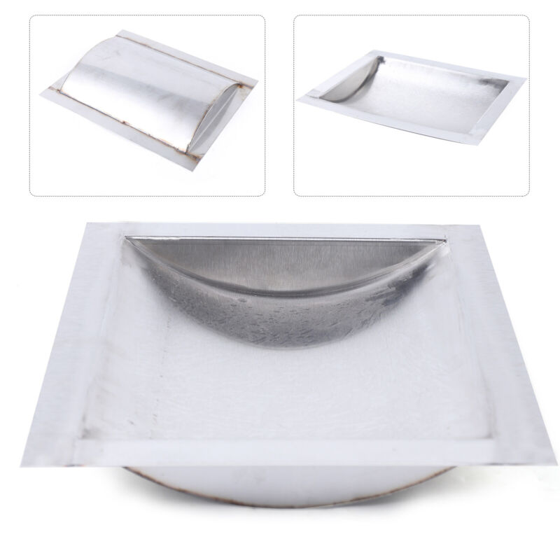 """Cash Window Drop-In Deal Tray 12"""" x 10"""" For Gas Stations Banks Stainless Steel"""