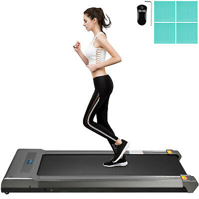 Electric Treadmill 2in1 Under Desk Treadmills Fitness Exercise Remote Control