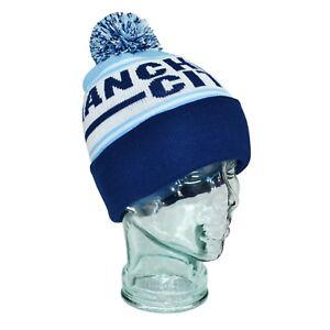 wholesale dealer 16df5 b22ac Manchester City Bobble Hat One Size Gift Souvenir