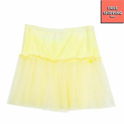 SO TWEE By MISS GRANT Tutu Skirt Size 12Y / 158-164CM Tulle Trim Garment Dye
