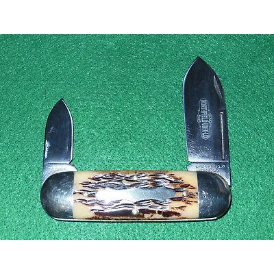 GEC #36 Sunfish Knife Northfield A.W. Jig Bone 1095 362208 Great Eastern Cutlery