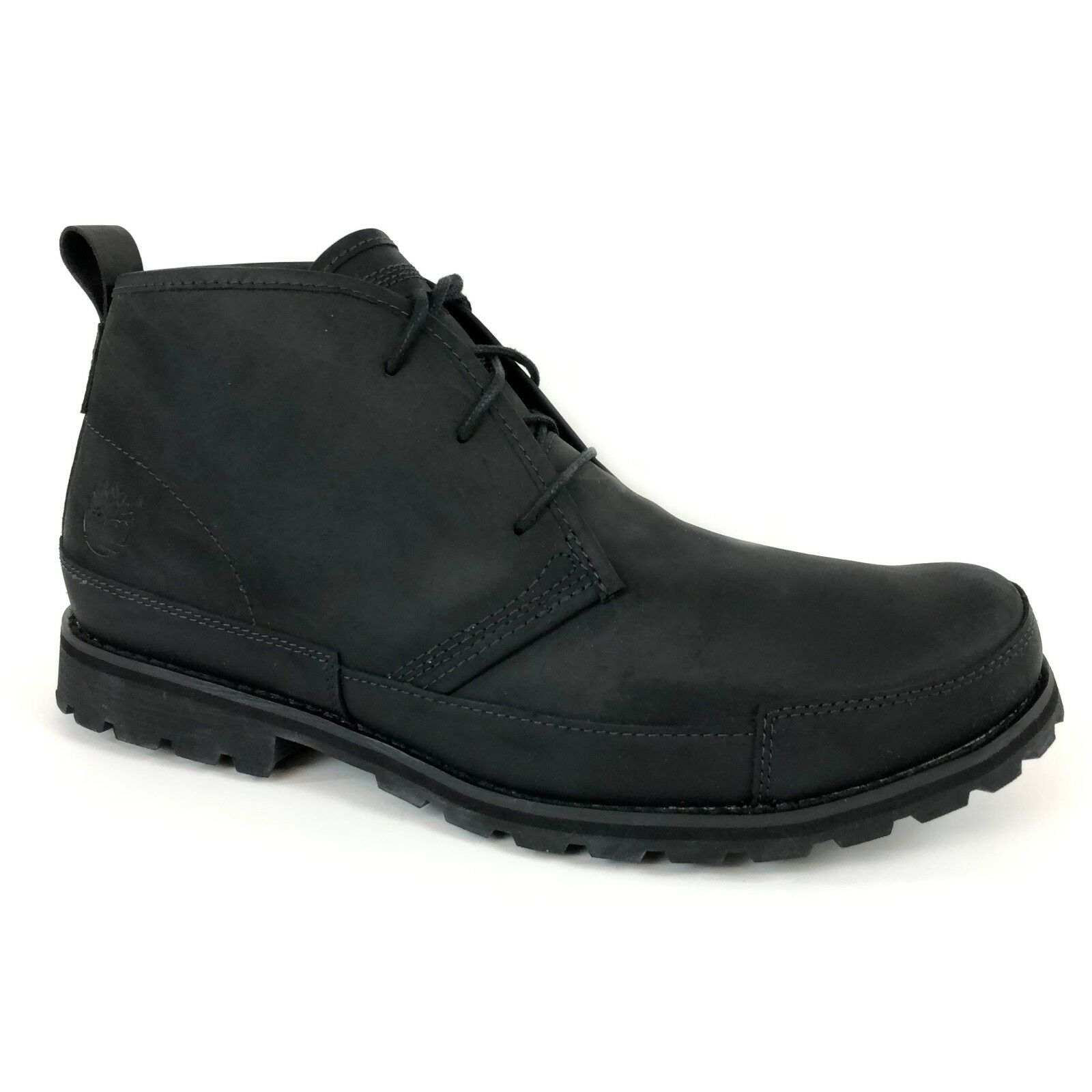 Timberland Men's Earthkeepers BBurg PTC Black Leather Chelsae Boots 84586 Sz 12