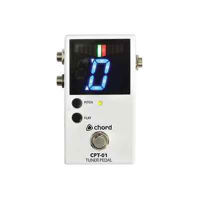 Chord CPT-01 Chromatic Guitar Tuner Foot Pedal