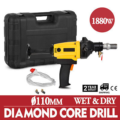 110mm Diamond Core Drill Concrete Drilling Machine Heavy Duty Engineering 1880w