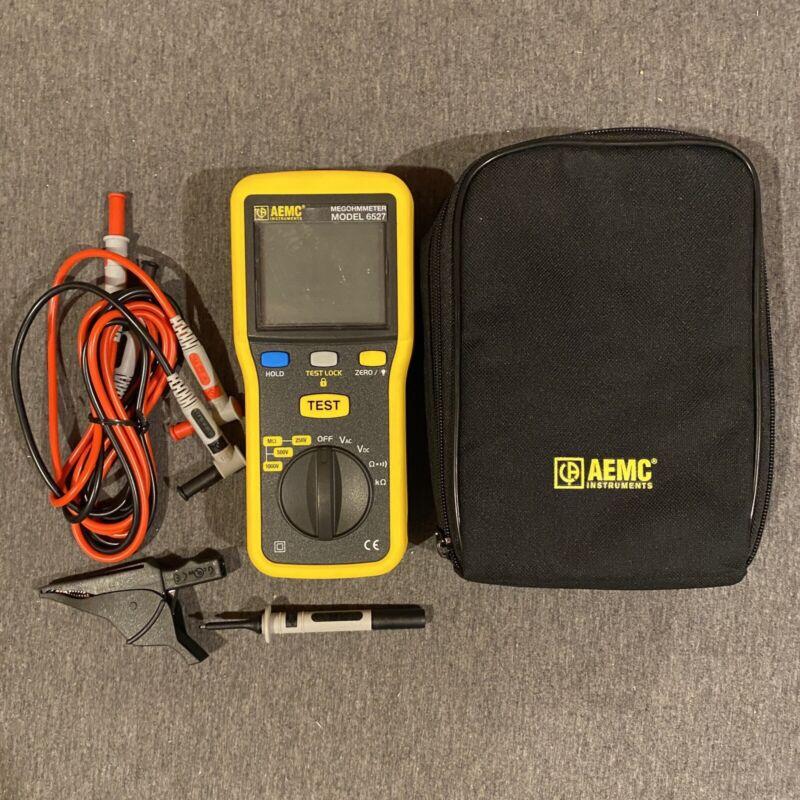 AEMC 6527 (2126.53) Digital Handheld Megohmmeter, 1000V Max Voltage