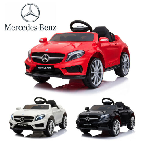 Elektro Kinderauto Mercedes Kinderfahrzeug Kinder Elektroauto 2x35W 12V 3 Farben