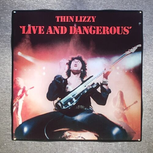 THIN LIZZY Live And Dangerous Coaster Custom Ceramic Tile