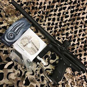 NEW GoG eXTCy Electronic Tournament Paintball Gun w/ Blackheart Board - Black