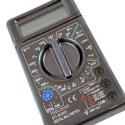Digital Multimeter Circuit Tester Multi Testing Meters Volt Amp Resistance