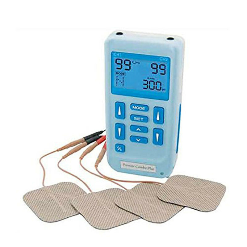 EM-6300A Premier Plus Rechargeable TENS Machine for Pain Relief with 24 programs