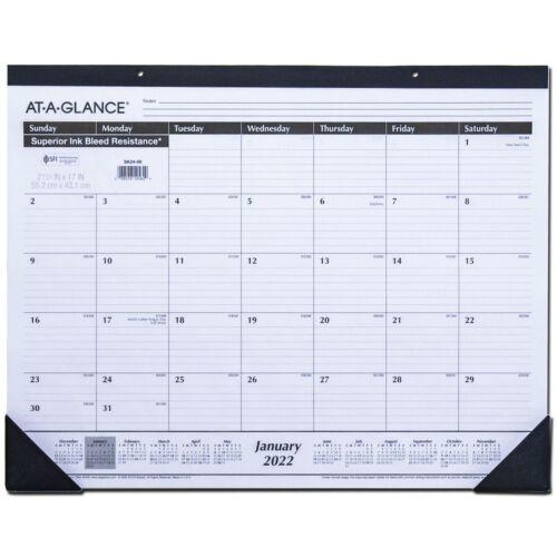 """2022 At-A-Glance SK24-00 Desk Pad Calendar, 21-3/4 x 17"""""""
