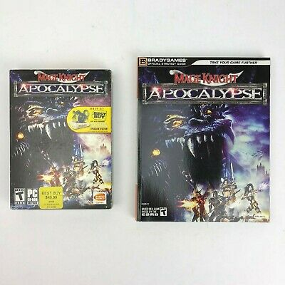 Mage Knight Apocalypse PC Video Game (Best Buy Promo Version) With Guide - - Buy Mage Knight
