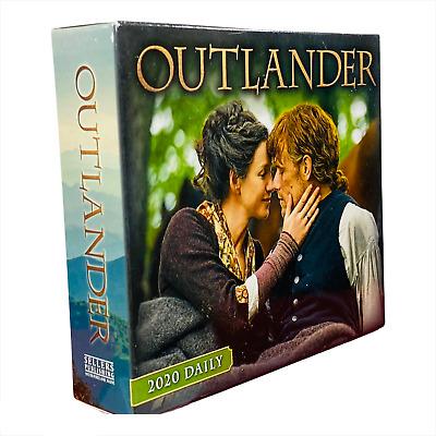 Estate Outlander 2020 Desk Daily Calendar Tv Drama Based On Book By D. Gabaldon
