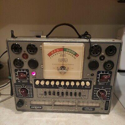 Vintage Jackson Model 715 Dynamic Tube Tester