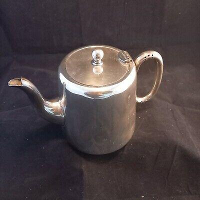 Art Deco Tea Pot silver plate Sheffield c1930 teapot 1.5 pints FREE P&P
