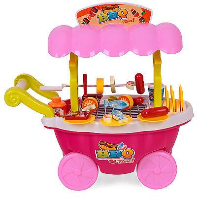 Kindergrill  Grill Kinder Barbeque Küche Licht und Ton Spielzeug + Zubehör
