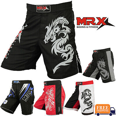 MMA Grappling Shorts UFC Mix Cage Fight Kick Boxing Fighter Martial Arts -