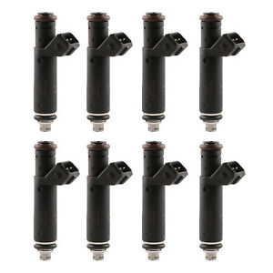 60lb Fuel Injectors fit Mustang GT Cobra F150 Lightning 4.6 5.0 5.4L 630cc X8