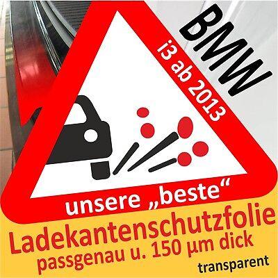 BMW i3 - i3s ab 2013 Lackschutzfolie Ladekantenschutz Folie transparent
