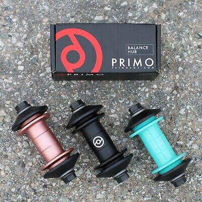 - PRIMO BMX BIKE BALANCE FRONT BICYCLE HUB BLACK POLISHED TEAL ROSE GOLD ODYSSEY