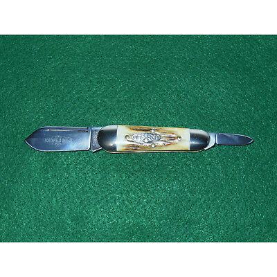 GEC #26 Sleeveboard Watch Pocket Sunfish Knife Stag 262209 Great Eastern Cutlery