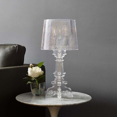 Acrylic Modern Table Lamp - Modern French Transparent Acrylic 20