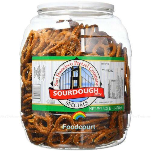 San Francisco Pretzel Company Sourdough Style Specials Pretzel Jumbo Jar 52 oz