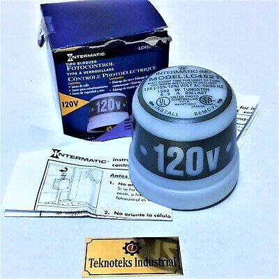 Intermatic Lc4521c Photo Control 120v Light Sensor