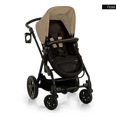 i'coo Photon Deluxe Stroller - Beige - Brand New!! Icoo