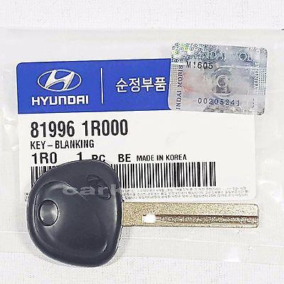 Genuine 819961R000 Uncut Blank Key For HYUNDAI ELANTRA Touring, i30 : 2012-2013 comprar usado  Enviando para Brazil