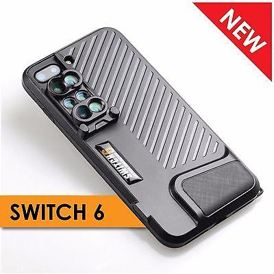 Ztylus Switch 6 Dual Optics 6in1 lens kit for iPhone 7 Plus fisheye wide tele (Fish Eye Lense For Iphone 7 Plus)