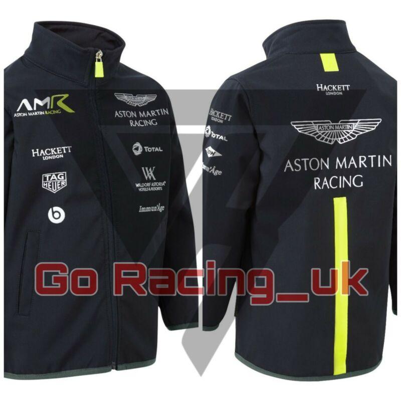 Racing Team Softshell Jacket Navy Blue