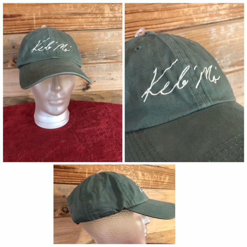 Vintage KEB MO Blues Musicain Tour Hat Baseball Cap
