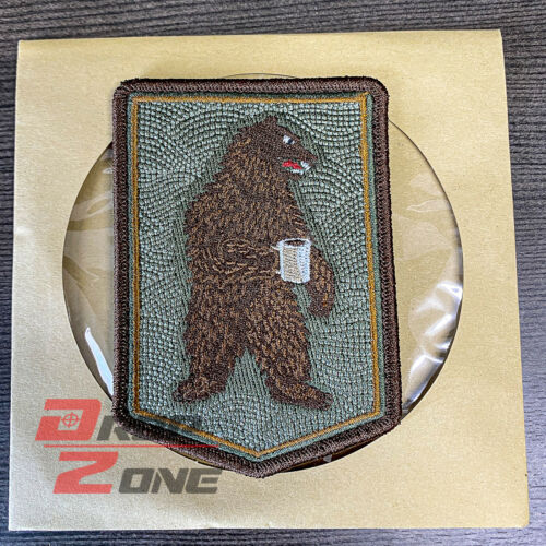 PDW Morning Bear Morale Patch Prometheus Design Werx TAD DRB Coffee Caffeine