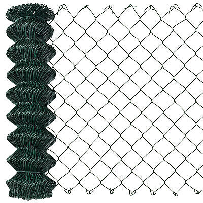 [pro.tec] Chain Link Fence 100cm x 25m Wire Fence Wire Mesh Garden Fencing Game