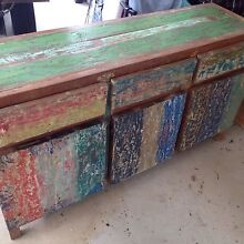 Beautiful Balinese boat wood cabinet Tarragindi Brisbane South West Preview