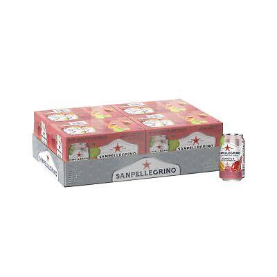 Sanpellegrino Prickly Pear & Orange Italian Sparkling Drinks 11.15 Oz Cans 24 Ct