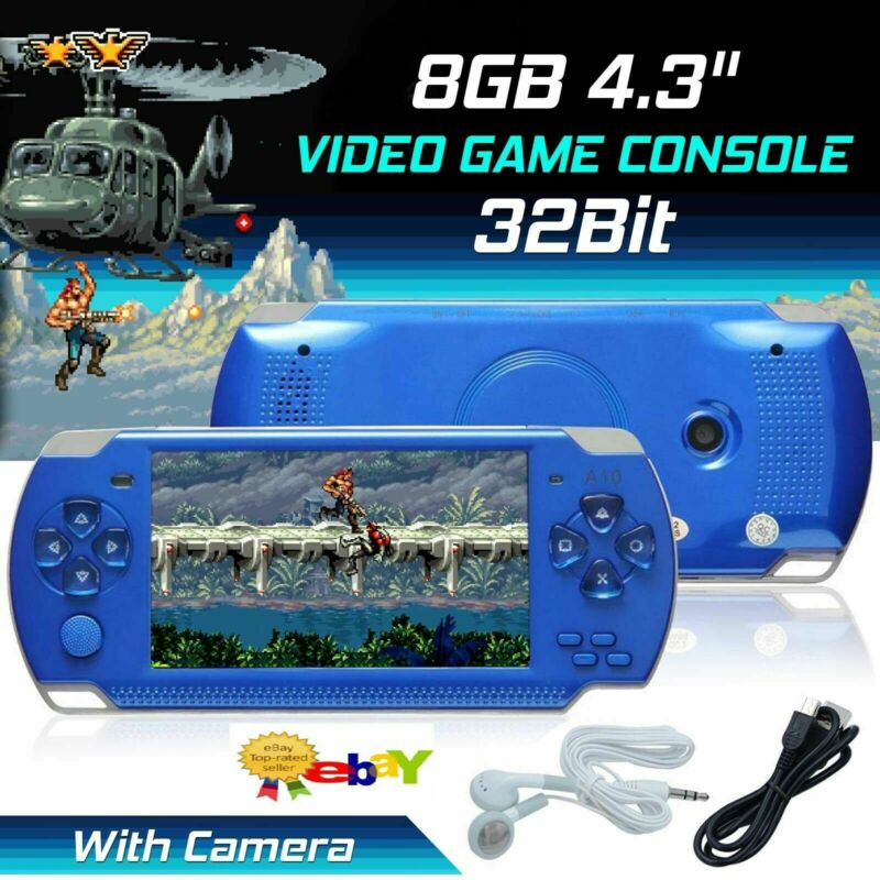 8GB+4.3%E2%80%9D+Handheld+PSP+Game+Console+Player+Portable+Video+Game+Consoles+UK