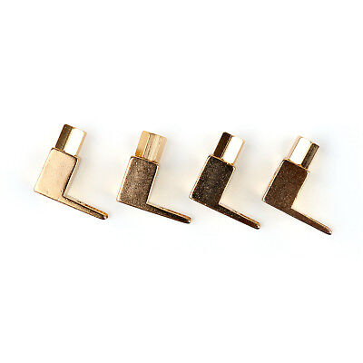 20 Pcs Copper Speaker Cable Spade Connector Terminal Plug Gold Plated Adapter UE