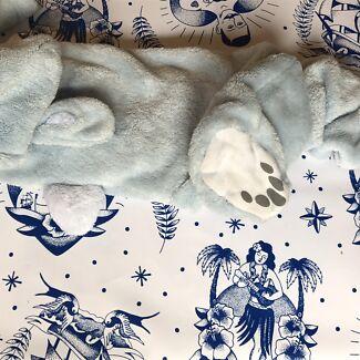 Peter rabbit babies v warm onesie size 1