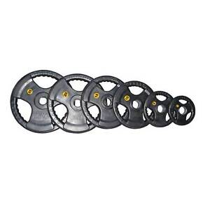 100KG COMMERCIAL OLY RUBBER PLATES BRAND NEW FREE QUICK LOCKS