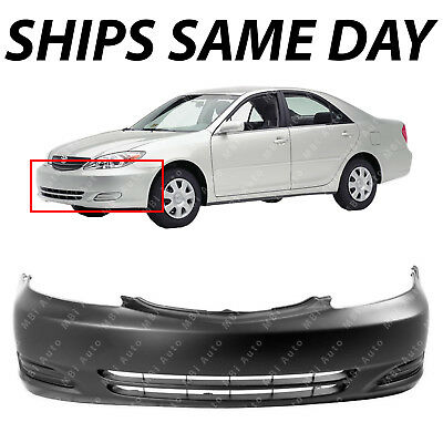 - NEW Primered - Front Bumper Cover Fascia for 2002 2003 2004 Toyota Camry 02-04