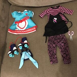 "18"" doll clothes and accessories"