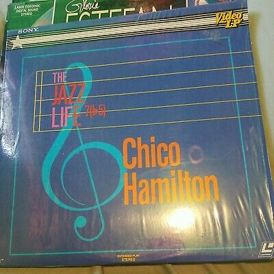 Jazz Life: Chico Hamilton (1981) [J0067DL] Laserdisc