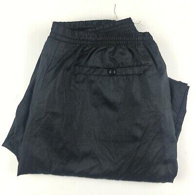 Vintage Nike Windbreaker Pants Nylon Elastic Cuff Zip Bottoms XL Red Tag