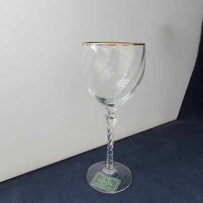 Lenox Crystal Paramount Gold Wine Glass
