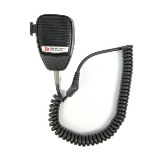NEW! ~ Federal Signal MNCT-SB Siren PA Mic Handheld Radio Microphone