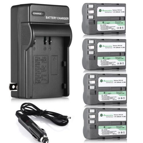 EN-EL3E Battery / Charger for Nikon D50 D70 D80 D90 D100 D200 D300S D700 Camera